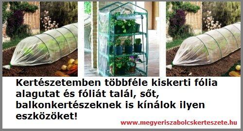 Kertészeti fóliák és fólia alagutak kertészetemben!
